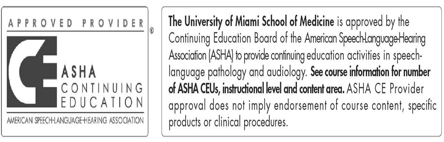 ASHA CEU Statement