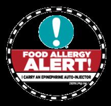 food allergy alert