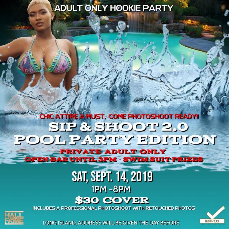 pool flyer