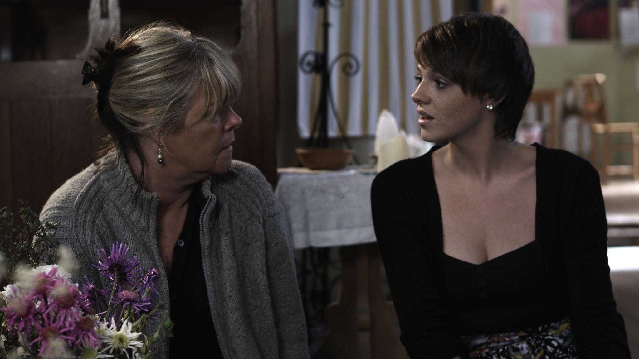 Linda Robson and Shana Swash in deep character