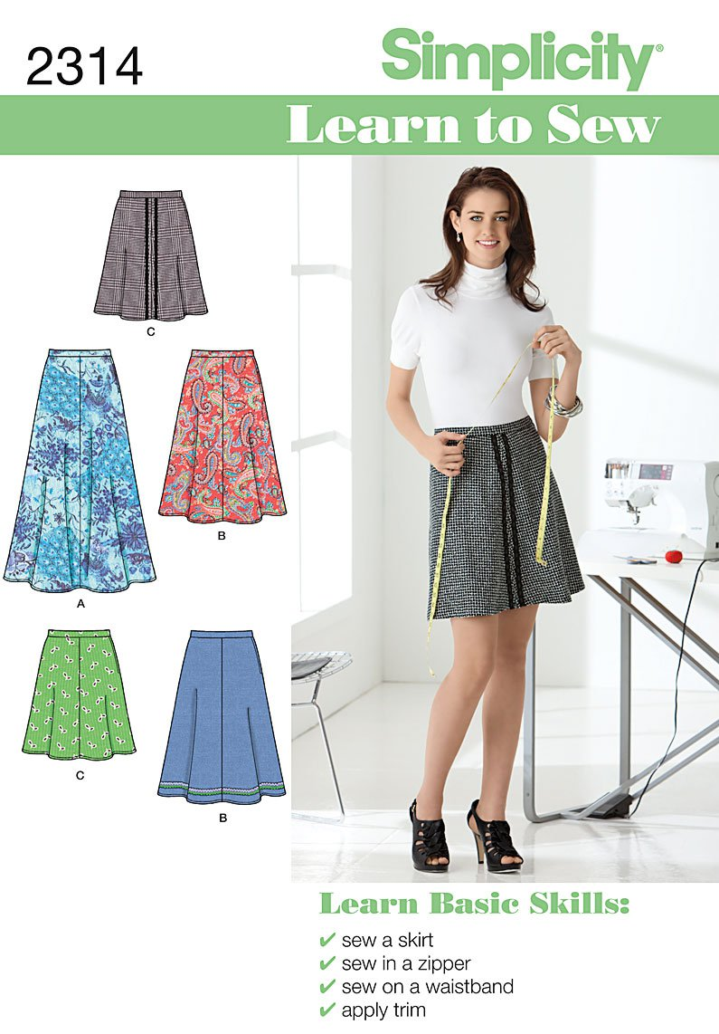 Make a Basic Skirt from a printed pattern+ Tickets, Multiple Dates ...