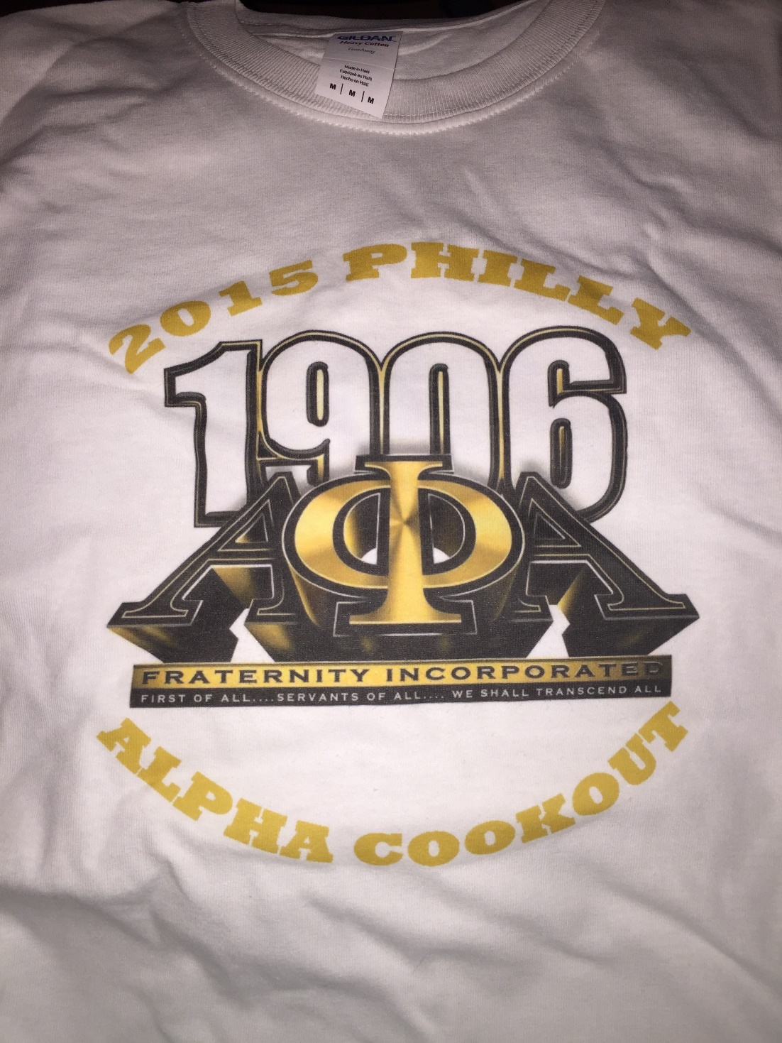 2015 Philly Alpha Cookout T-Shirt