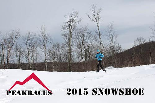 Peak 2015 Snowshoe race