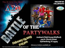 Battle Of The Partywalks 2013