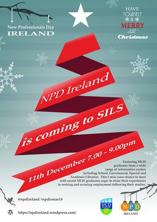 NPD Ireland Christmas Mixer Flyer