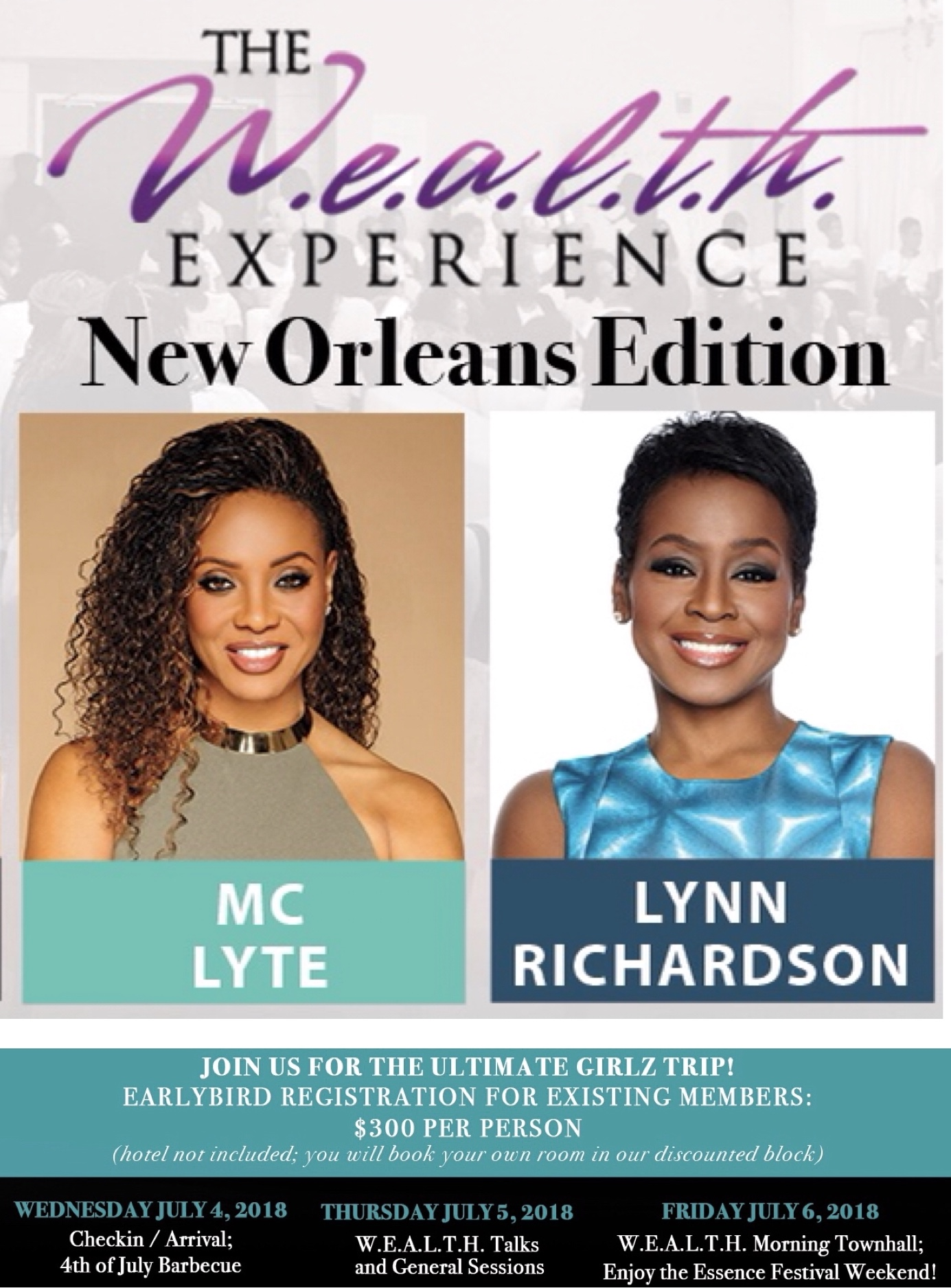 W.E.A.L.T.H. Experience New Orleans