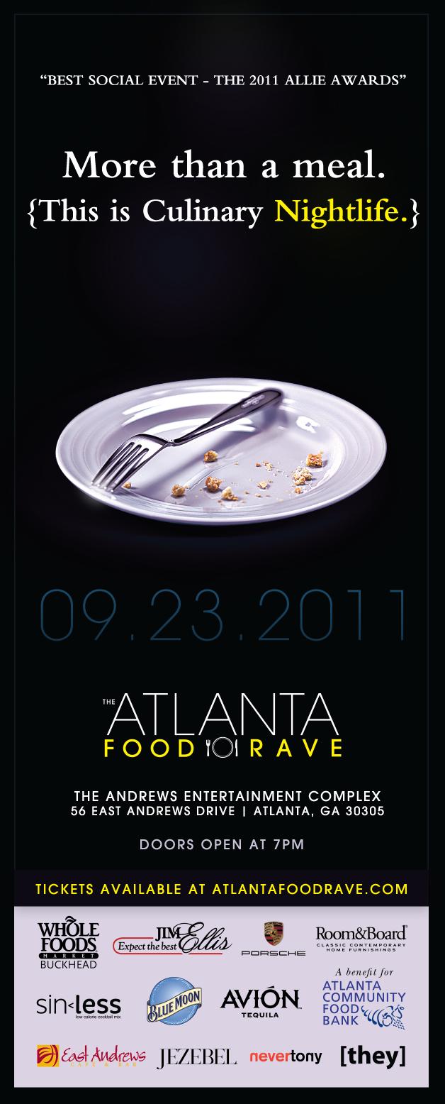Food Rave Ad