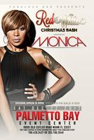Red & White Christmas Bash with Grammy Award Winner   MONICA