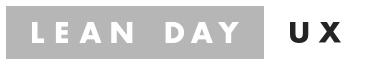 Lean Day UX logo