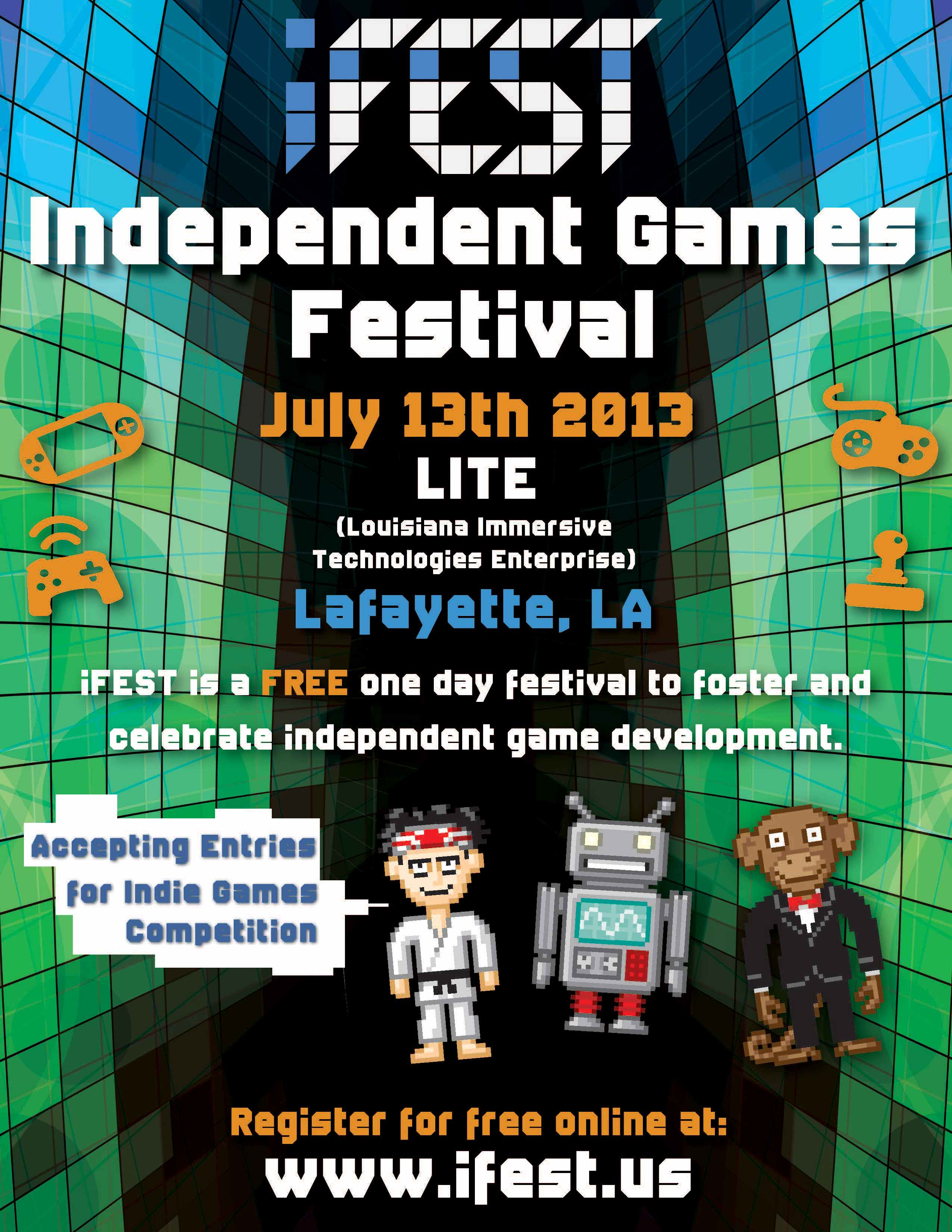 iFEST 2013 Flyer for Lafayette