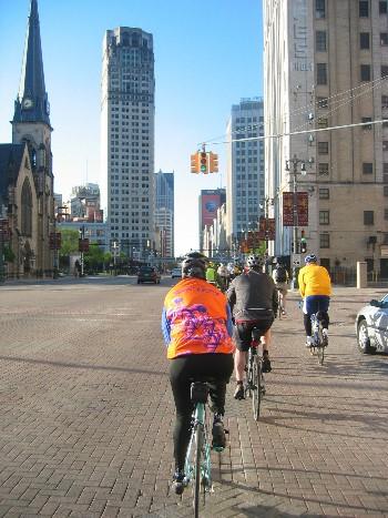 Detroit Bike to Work Day
