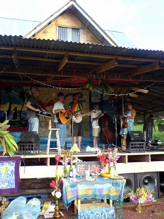 Blackwood stage
