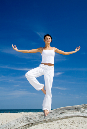 Yoga posture like book cover