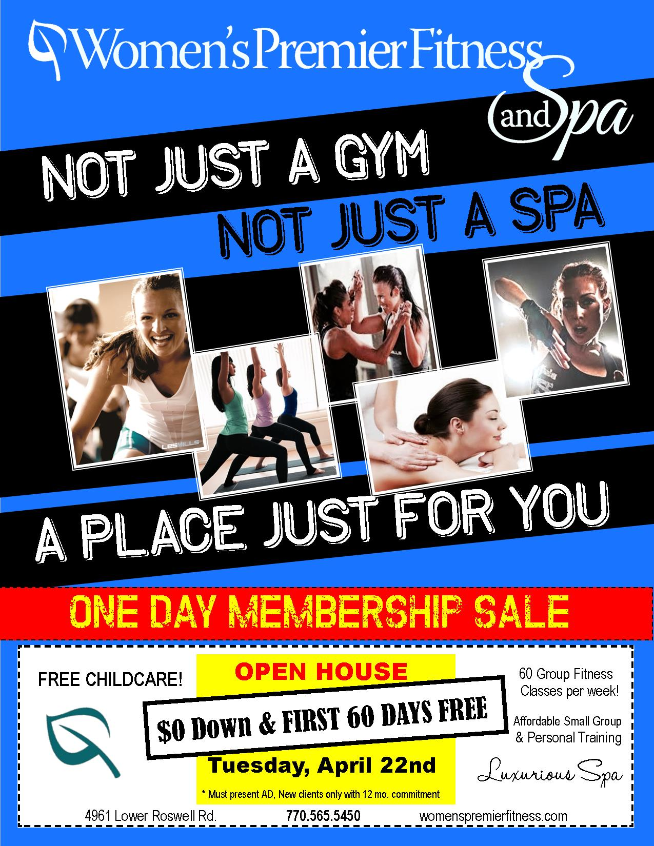 FREE 60 Day Membership Sale