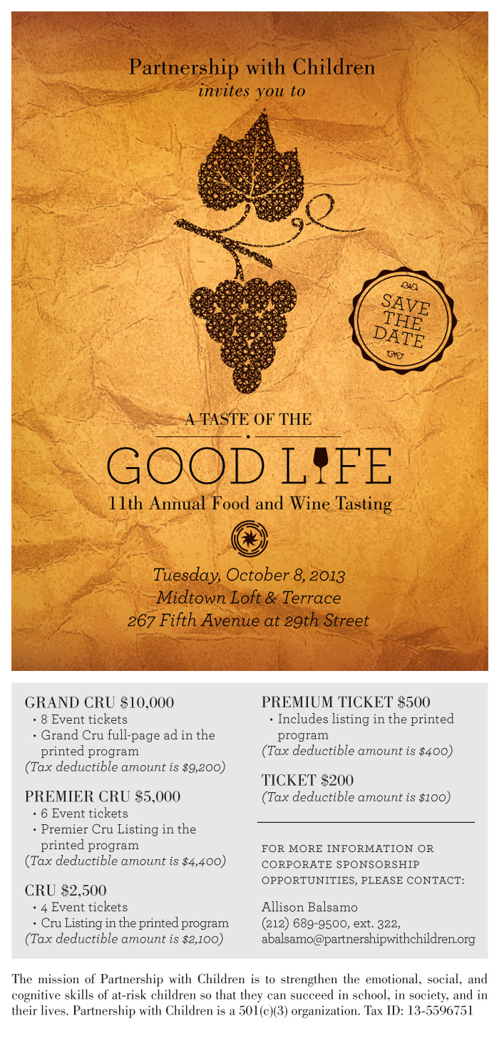 Wine Tasting Save the Date