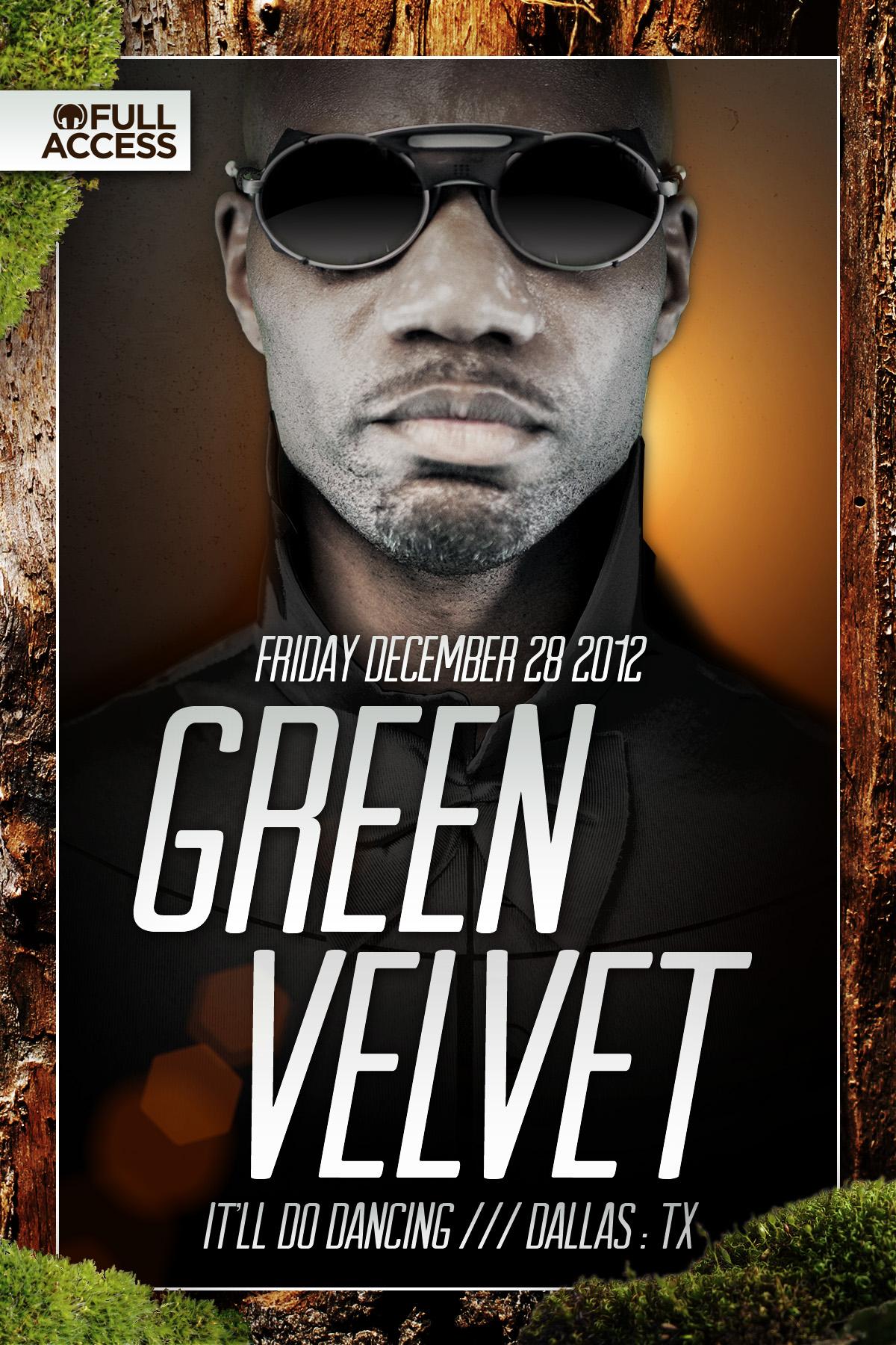 Green Velvet Flyer