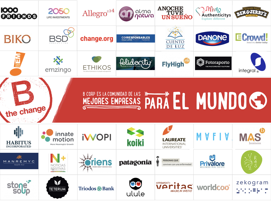 el movimiento de las mejores empresas para el mundo bcorpspain 2017