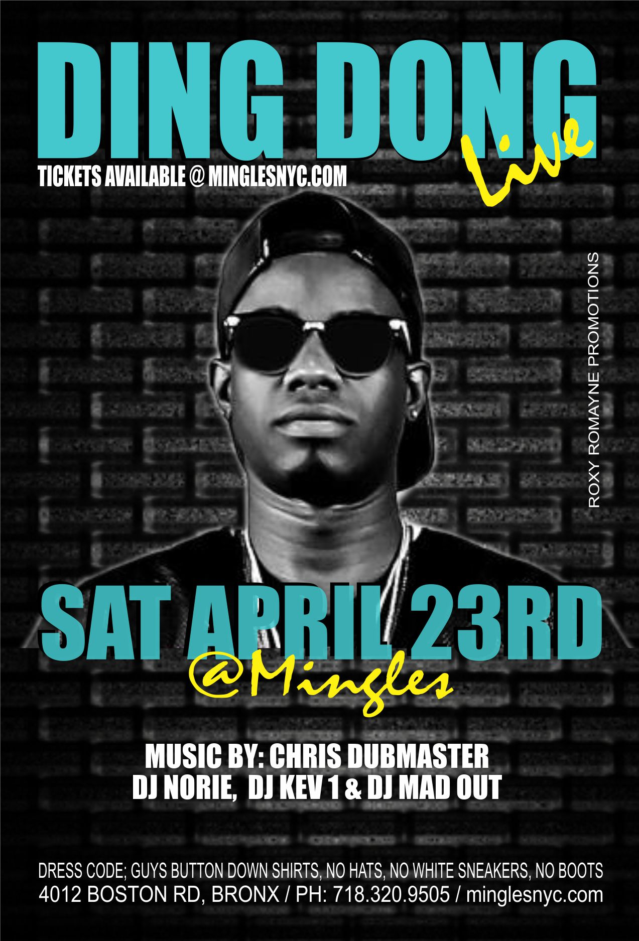 DING DONG LIVE @ MINGLES Tickets, Sat, Apr 23, 2016 at 11 ...