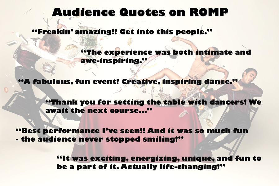 ROMP Audience Feedback