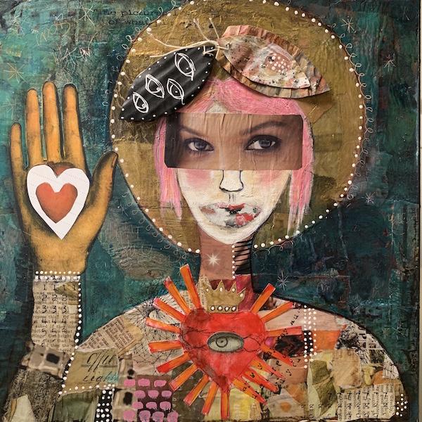 Kecia Deveney Deconstructed Portrait