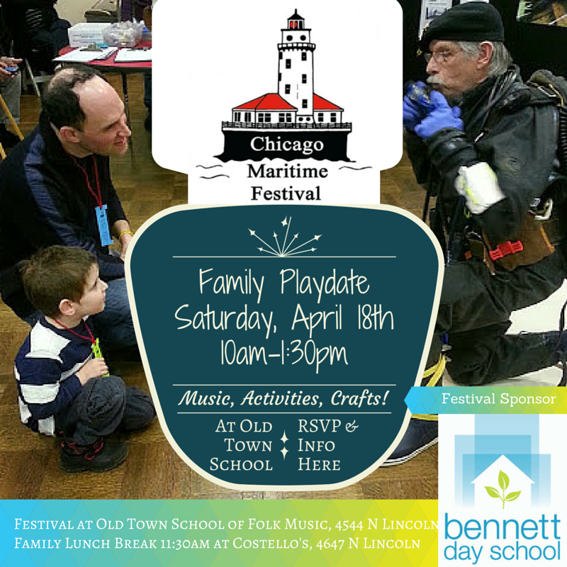 Chicago Maritime Festival Playdate with Bennett Day School families