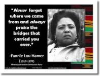 Voting Rights Activist Fannie Lou Hamer