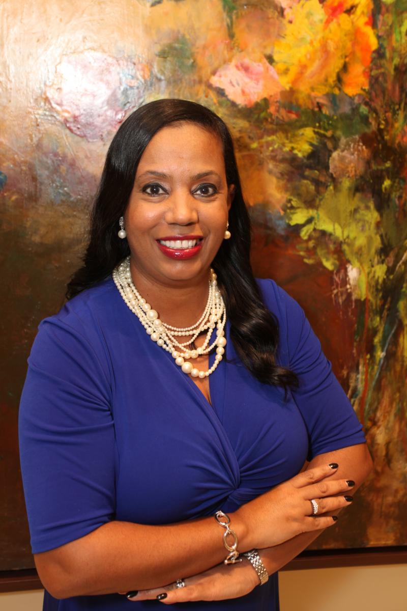 Greater New Haven NAACP President Doris Dumas