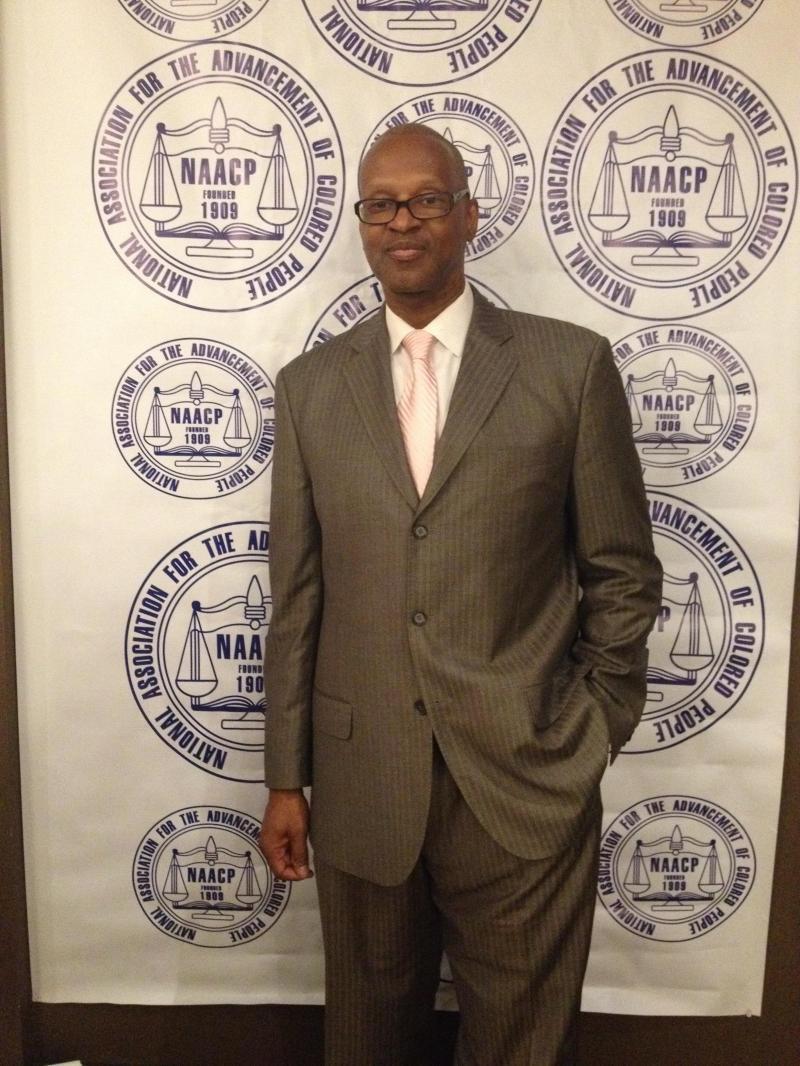 Stamford NAACP President Jack Bryant
