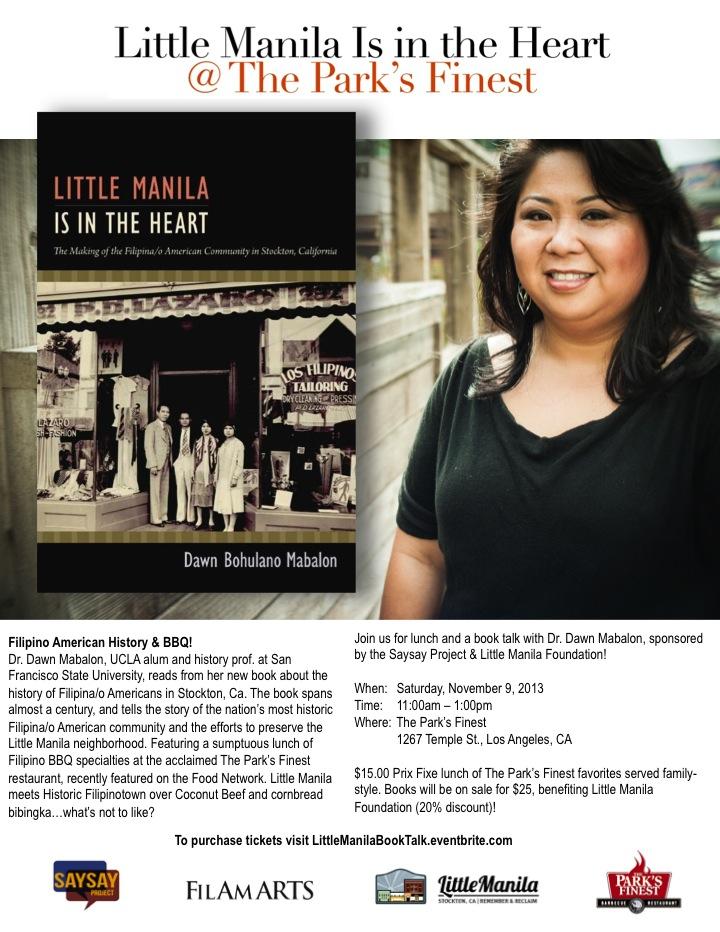 Little Manila is in the Heart Flyer