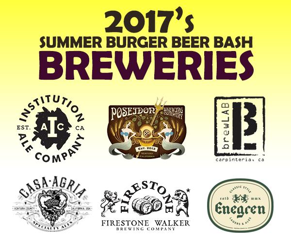 2017 Summer Burger Beer Bash Breweries