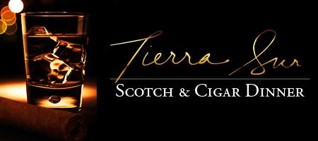 Tierra Sur Scotch & Cigar Dinner 2012