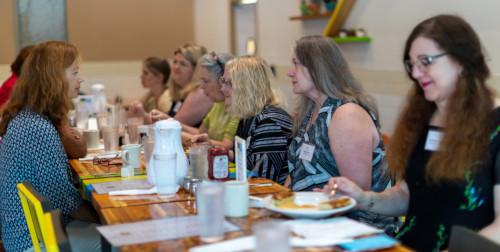 Women at Breakfast