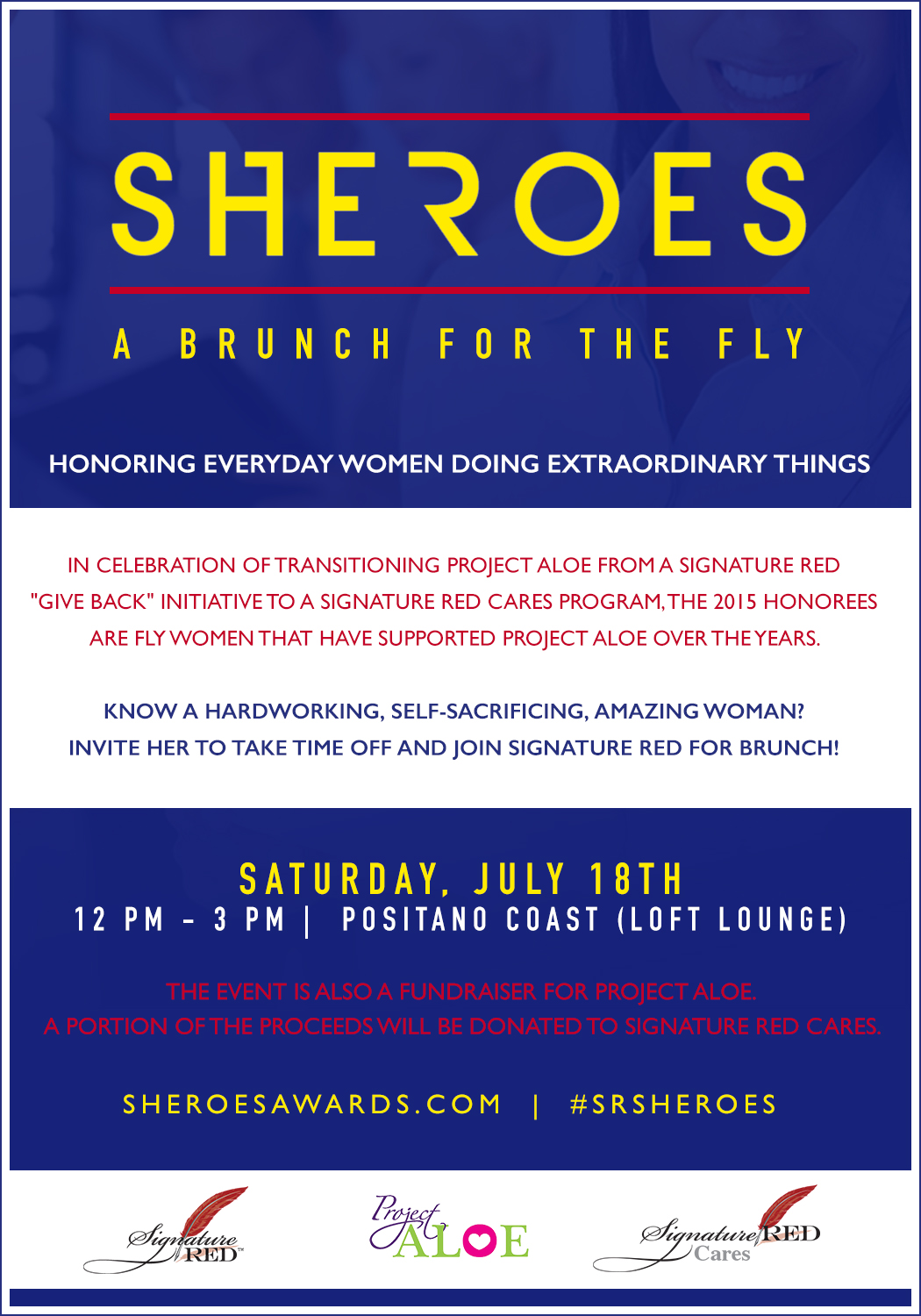Sheroes Brunch Flyer