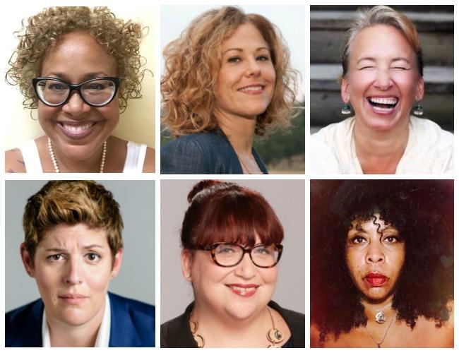 6 women storytellers