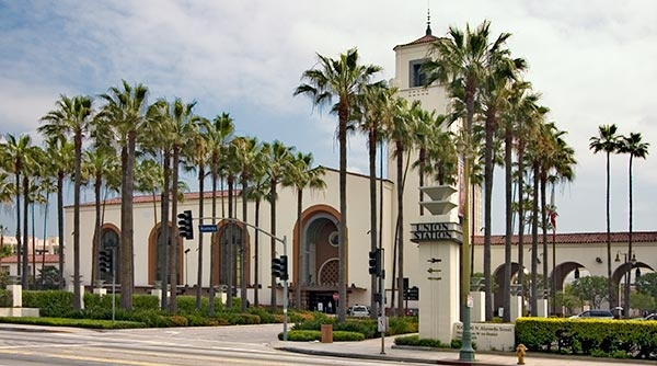 Photo of Union Station in Los Angeles