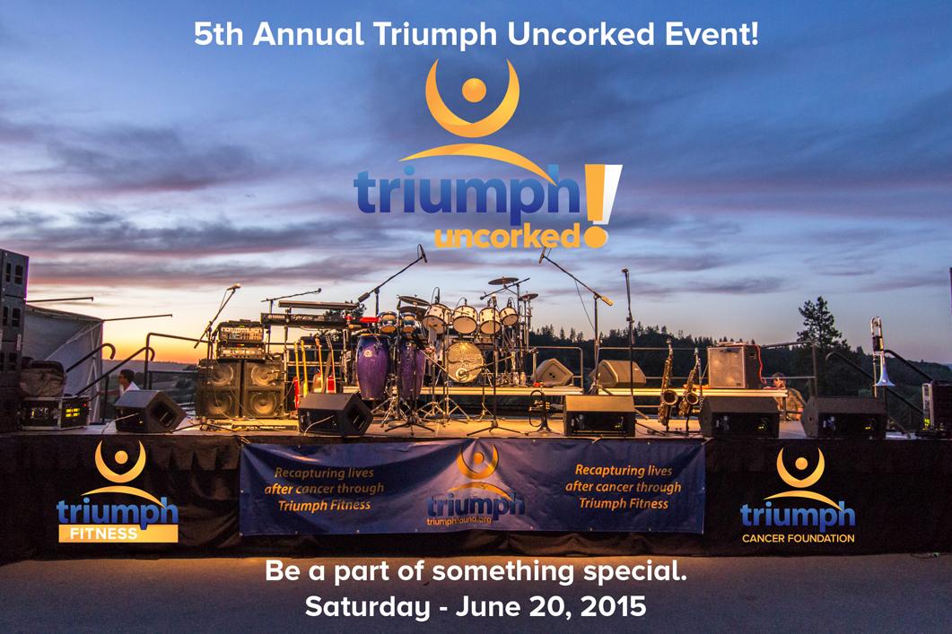 Triumph Uncorked Stage