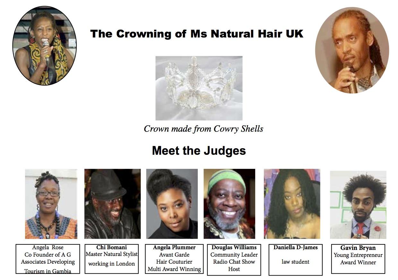 Natural hair Pageant UK