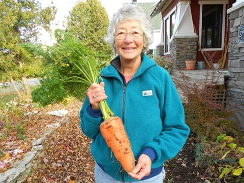 Cathleen and the Giant Carrot