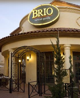 Brio Tuscan Grille Restaurant Week Menu