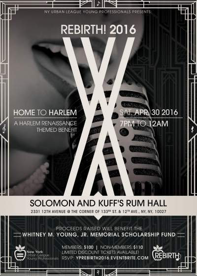 Rebirth 2016!: Home to Harlem Flyer