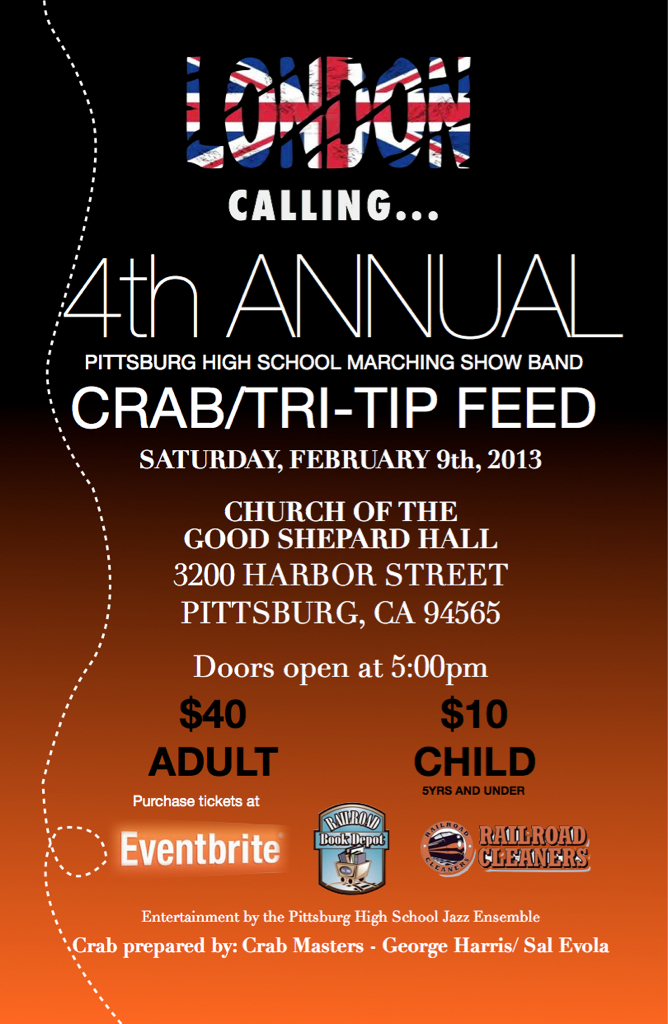 Pittsburg High School Marching Show Band Crab Feed Tickets-1474