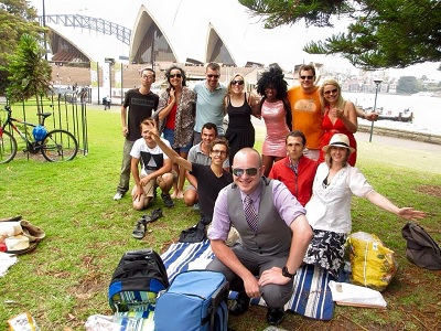 Christmas Day Picnic Lunch Sydney 2014