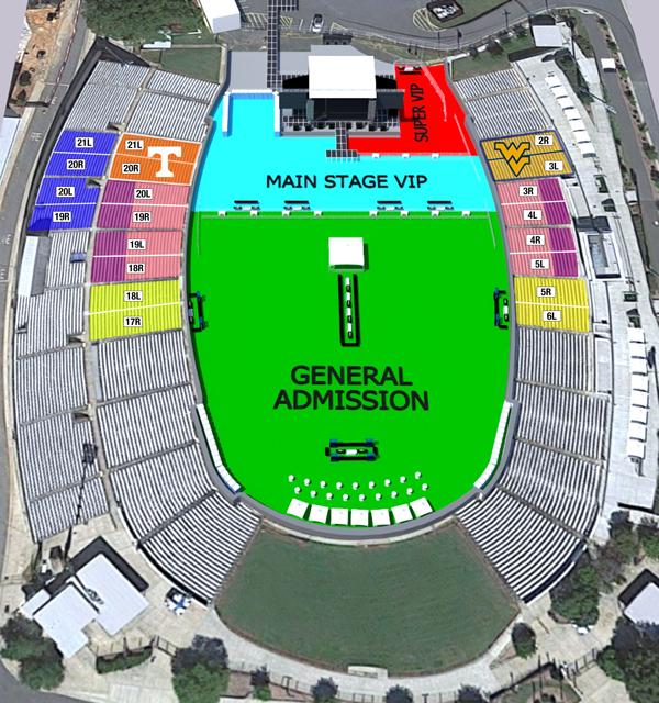 Memorial Stadium - Rendering