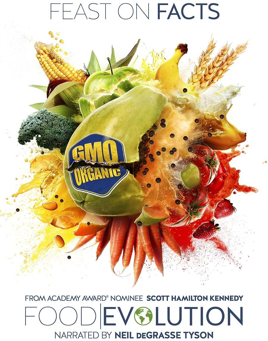 Food Evolution Promo Poster