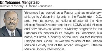 Dr. Yohannes Mengsteab