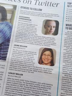 Alexandra Cunningham and Jaime Wilson Sacramento Twitter Stars