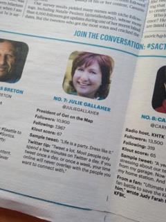 Julie Gallaher Sacramento Twitter Stars