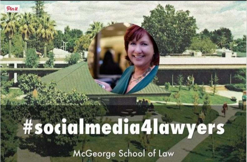 McGeorge Sacramento Social Media for Lawyers