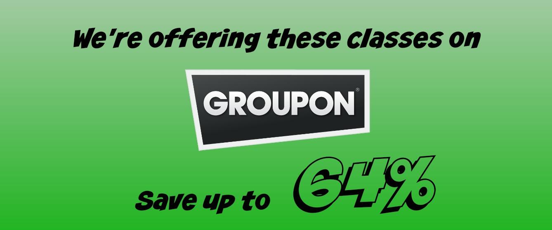 Groupon savings coupon