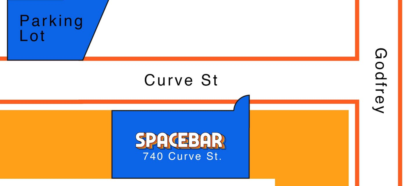 Spacebar Parking Map